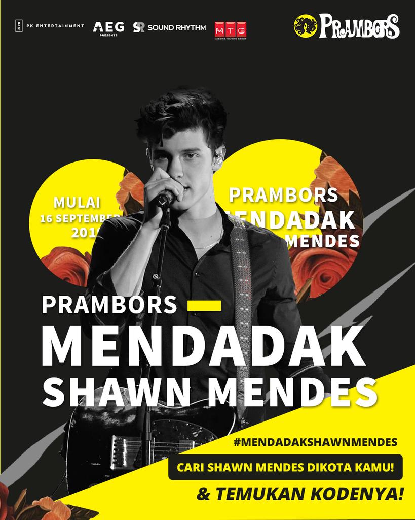 Yuk Cari Shawn Mendes di Kotamu dan Menangkan Tiket Nonton Konser Gratis!