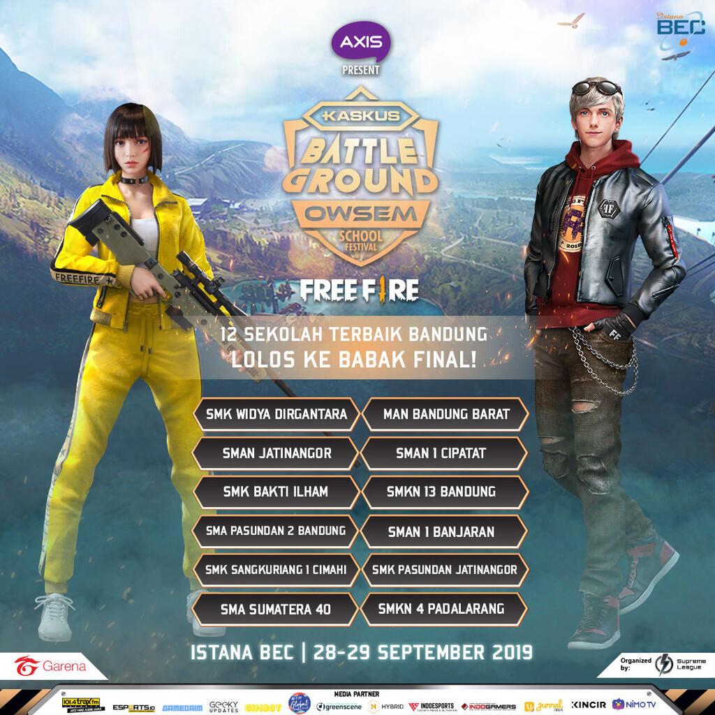 Siap-siap Mabar di Kota Bandung! - KASKUS Battleground Owsem School Festival