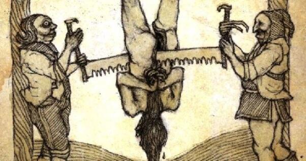 Digergaji Hingga Dibakar Hidup-Hidup, Inilah Alat Penyiksaan Zaman Dulu Paling Sadis