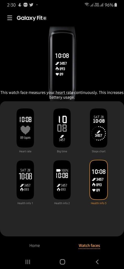 Galaxy Fit-e: Smartband Unik dan Terjangkau Buat Lu