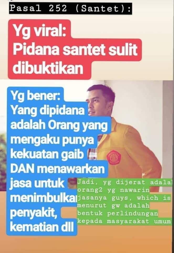 RKUHP Harus Segera Disahkan !! Indonesia Bukan Di Belanda