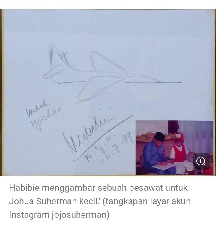 "Eyang Habibie dalam Lagu ""Kapal Terbang"""