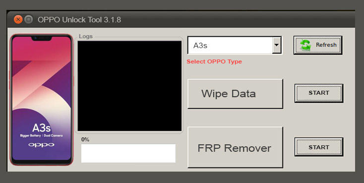 Cara Unlock Oppo A3s Lupa Pola Tanpa Dongle Tanpa Flashing