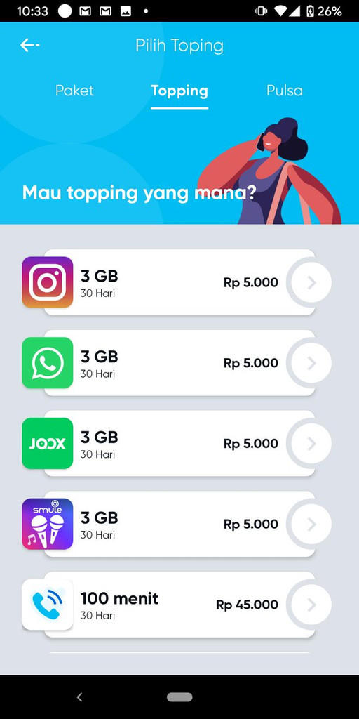 [COMMUNITY] Telkomsel By.U : Kartu Internet Dengan Beragam Pilihan Kuota Murah
