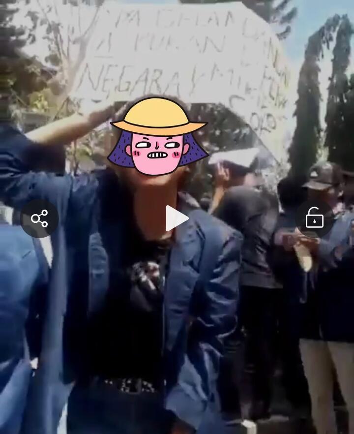 Video viral selangkangan bukan milik negara berujung permintaan maaf