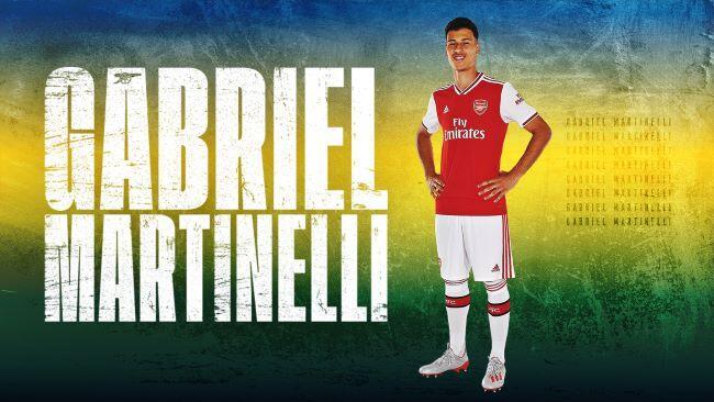 Lewat Liga Europa, Arsenal Memperkenalkan Striker Muda: Gabriel Martinelli