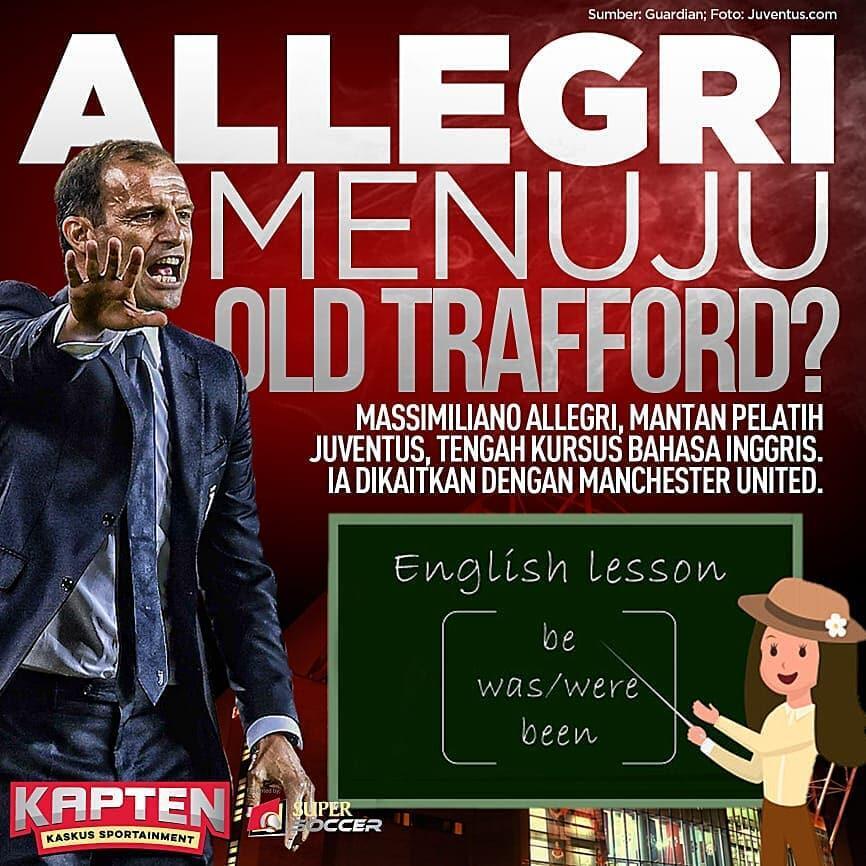 Massimiliano Allegri Siap Gantikan Peran Ole Gunnar Solskjaer di Manchester United