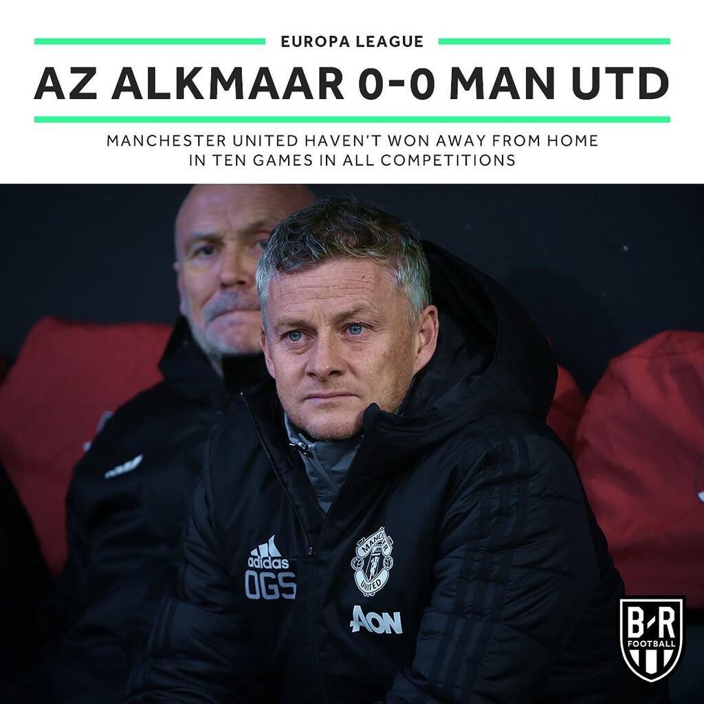 Manchester United Hobi Banget Tidak Menang di Kandang Lawan