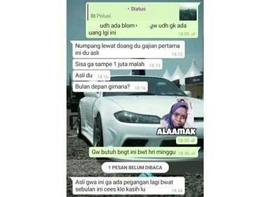 Deretan Chat WA Nagih Utang, Ada yang Santuy Sampai Drama Bikin Geregetan!