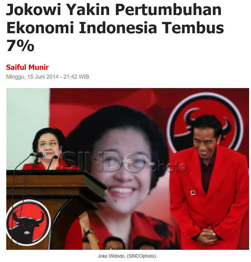 Jokowi Tak Pernah Capai Target Pertumbuhan Ekonomi, Begini Datanya