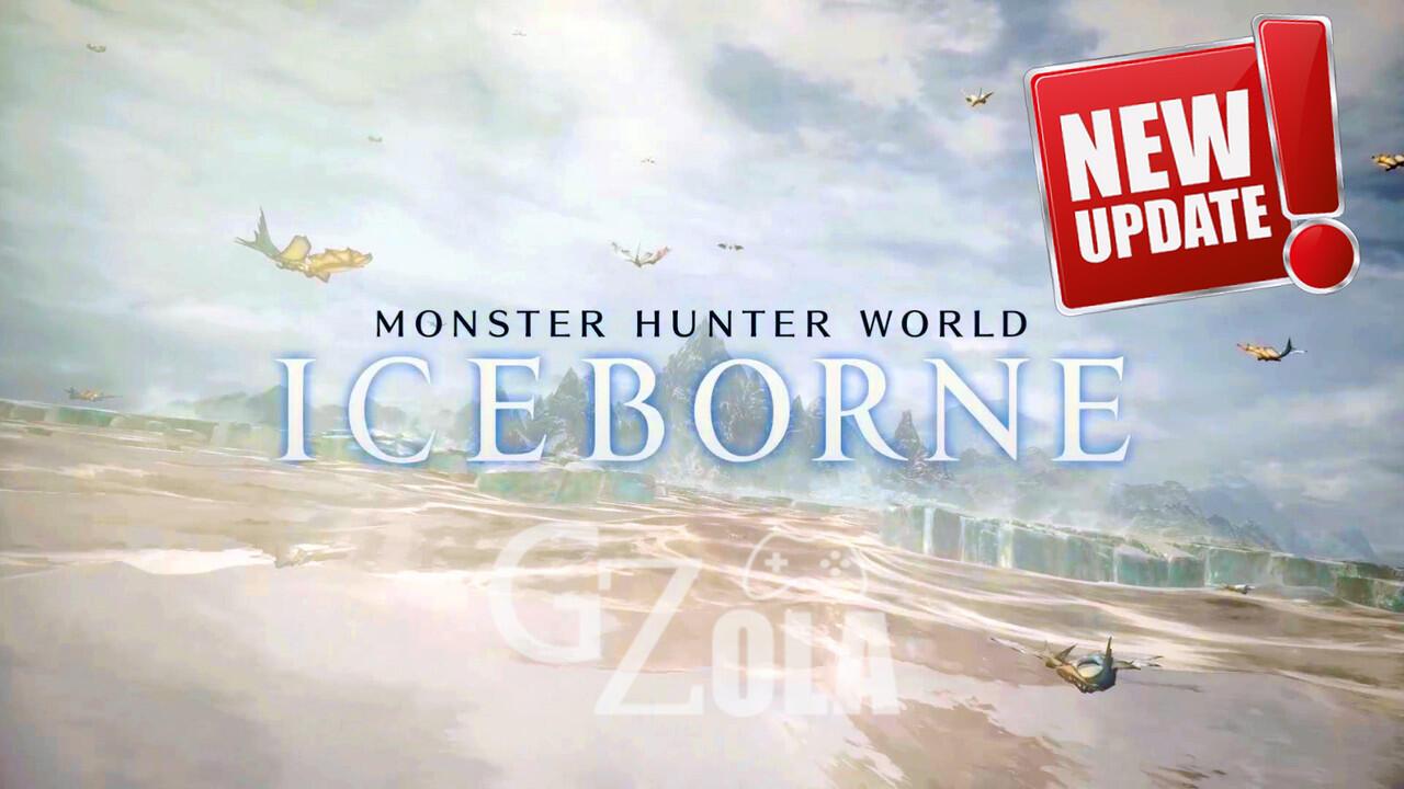 Capcom Umumkan Update Untuk MHW: Iceborne