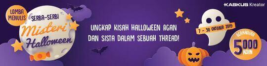Halloween Ala Indonesia, Pocong dan Kuntilanak Menghantui!