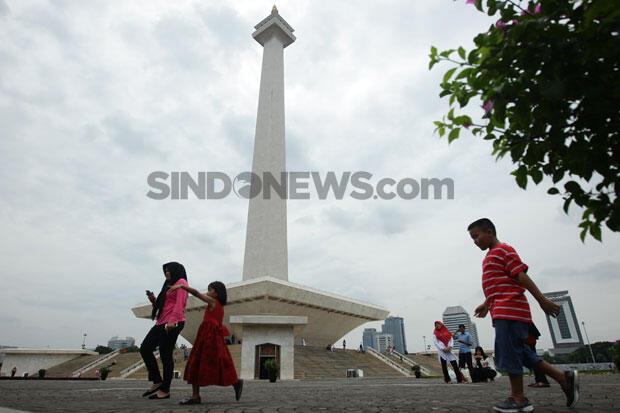 Senin Pagi Ini, Jakarta Cerah Berawan