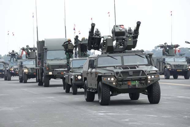Arhanud Tampilkan Shikra, Radar Pendeteksi Sejauh 250 Km pada HUT Ke-74 TNI