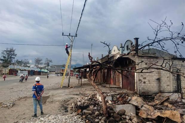 Pemulihan Kelistrikan Wamena Rampung 100%
