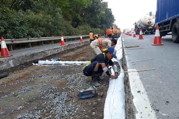 Ada Pekerjaan Konstruksi, Pengguna Jalan Tol Jagorawi Diminta Berhati-hati
