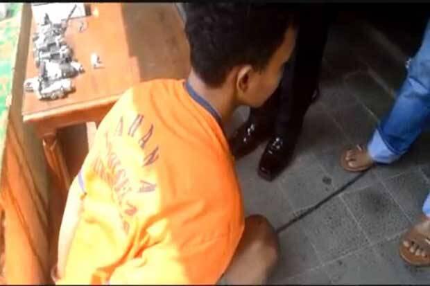 Pelaku Curanmor di Masjid Dibekuk, 3 Motor Diamankan