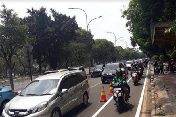 Pengendara Motor Dikeluhkan karena Kerap Pakai Jalur Sepeda