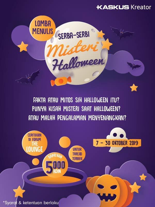 Trick or Treat! Tulis Serba-Serbi Terkait Halloween, Dapatkan Bonus Koinnya!