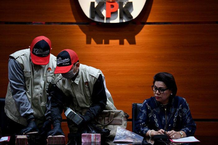 KPK tangkap Bupati Lampung Utara
