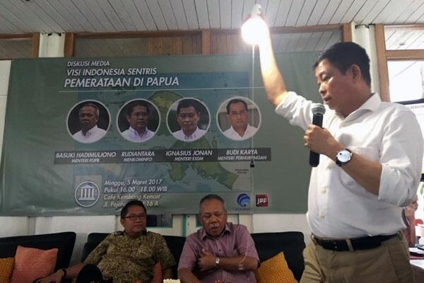 ESDM Utamakan Papua dan NTT Jadi Prioritas Program LTSHE di 2019
