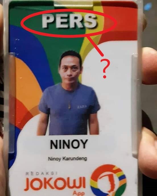 Viral Tertangkapnya Wartawan Media Pers Jokowi, FWJ Desak Dewan Pers Beri Sanksi