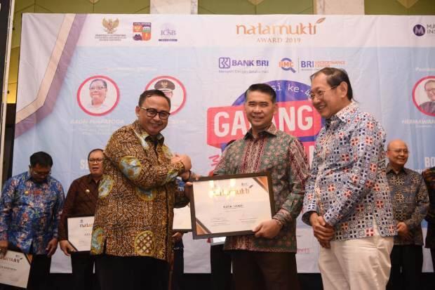 Tahun Kedua, Kota Jambi Kembali Meraih Penghargaan Natamukti