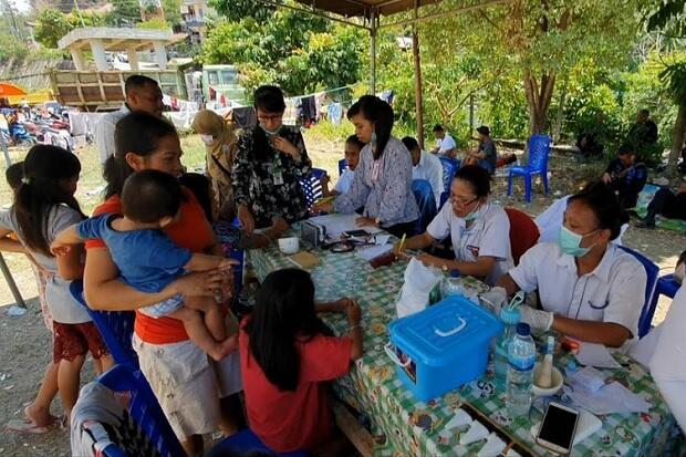 Ribuan Pengungsi Wamena yang Masih Berada di Jayapura Mulai Terserang ISPA