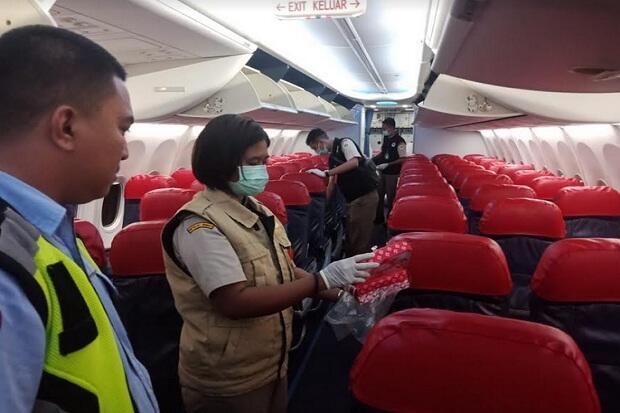 Antisipasi Virus Demam Babi Afrika, Berantan Periksa Sampah Pesawat