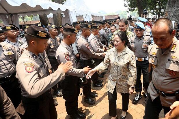 Apresiasi TNI-Polri, Puan Minta Aparat Amankan Pelantikan Presiden