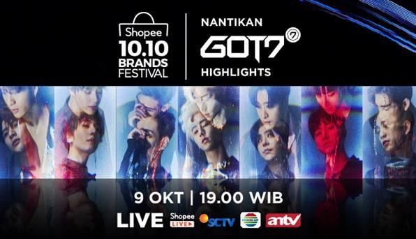 Acara TV Shopee 10.10 Brands Festival Bawa Ragam Kejutan!