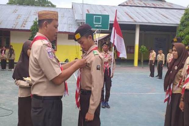 Pelantikan Pengurus Dewan Ambalan Pramuka SMAN 4 Kota Gorontalo