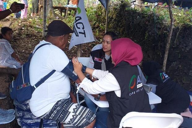 Korban Gempa Ambon Keluhkan Sakit setelah 2 Minggu Mengungsi