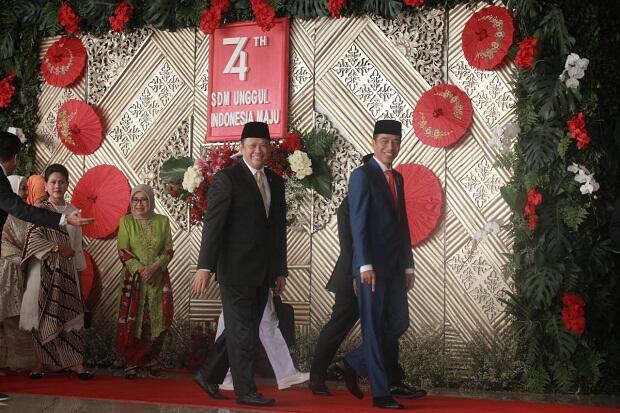Diundur, Pelantikan Jokowi-Ma'ruf Digelar Sore Hari