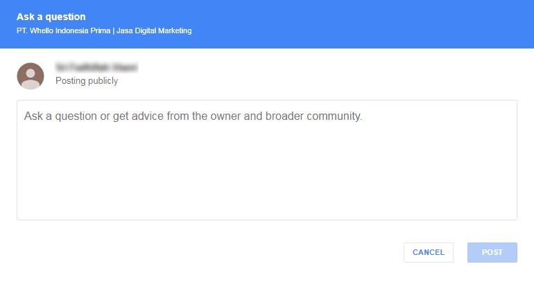 Pengertian dan 6 Alasan Pentingnya Google Bisnisku