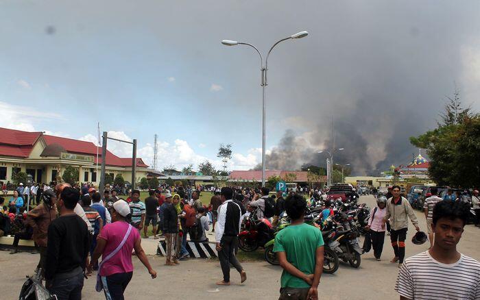 13 Orang jadi tersangka kerusuhan Wamena, 3 buron