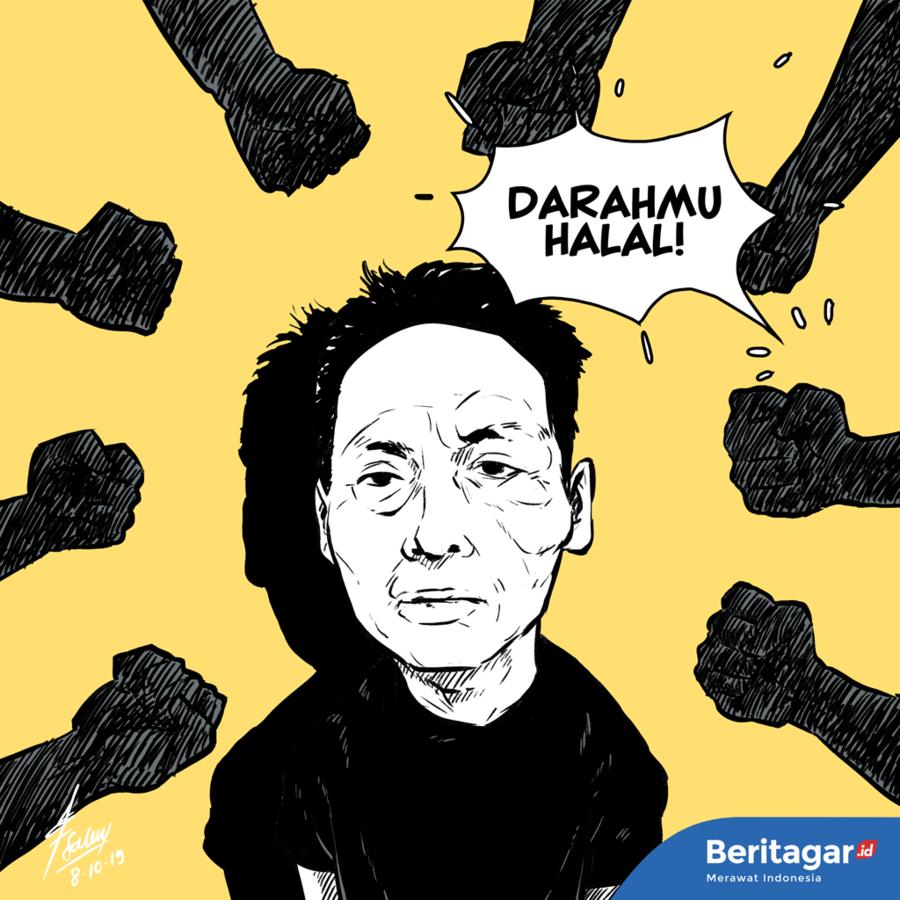Kartun: Persekusi Ninoy dan mimpi buruk ala fiksi