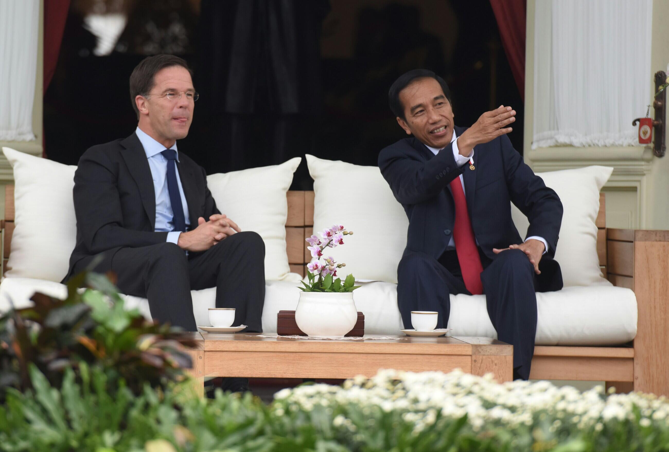 PM Belanda Mark Rutte Kunjungi Presiden Jokowi di Bogor