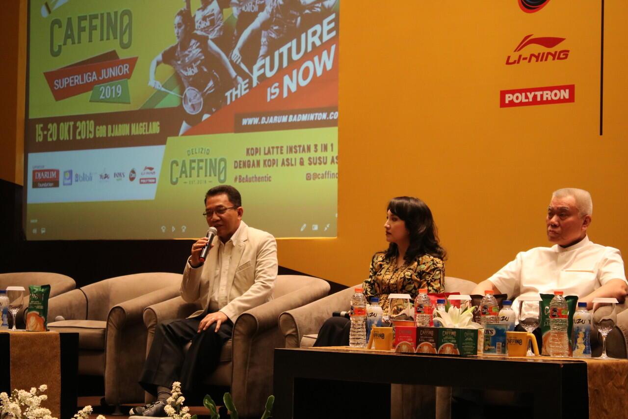 Ratusan Pebulutangkis Siap Ramaikan CAFFINO Superliga Junior 2019.