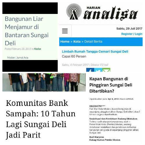 Hujan Deras Guyur Kota Medan, Jalan Jawa Terendam Banjir