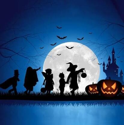 "Halloween dan ""Trick or Treat"""