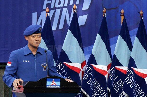 AHY Siap Jika Ditunjuk Jadi Menteri Kabinet Jokowi-Kiai Ma'ruf