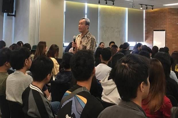 Cegah Hoaks, Mahasiswa Binus Diajak Pahami Pentingnya Media Mainstream