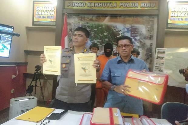 Jadi Tersangka Karhutla, Polda Riau Tahan Bos Perusahaan Sawit PT SSS
