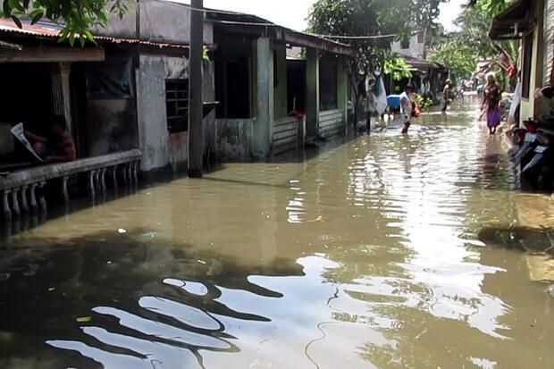 Ribuan Rumah di Medan Utara Terendam Banjir Usai Diguyur Hujan Deras