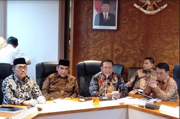 MPR Sepakat Pelantikan Jokowi-Ma'ruf Pukul 14.00 WIB