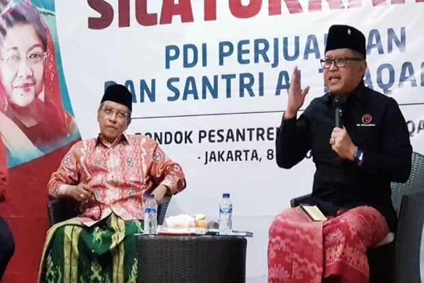 Jokowi-Ma'ruf Segera Dilantik, PDIP Ucapkan Terima Kasih kepada Nahdliyin