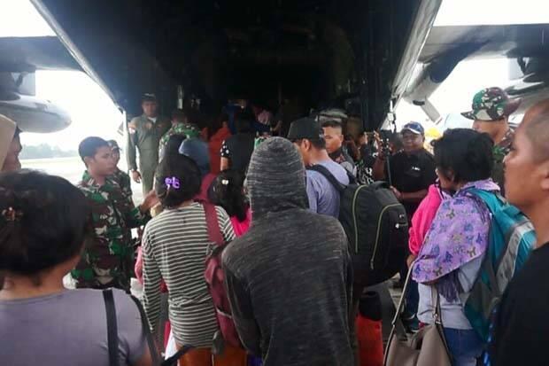 102 Pengungsi Kembali ke Wamena