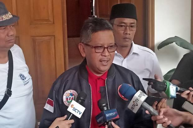 Isu Gerindra Dapat 3 Menteri, Hasto: Prioritas Pak Jokowi dari Unsur Kepartaian KIK