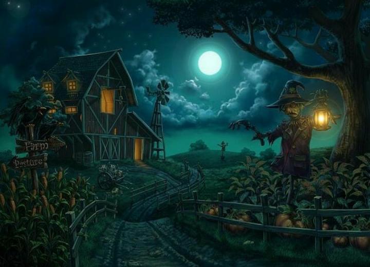 Pesta Pengusiran Roh Jahat Halloween